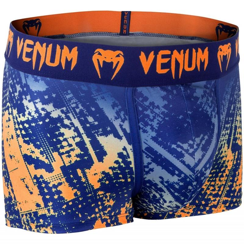 Venum Bokserki Tropical Niebieskie/Pomarańczowe