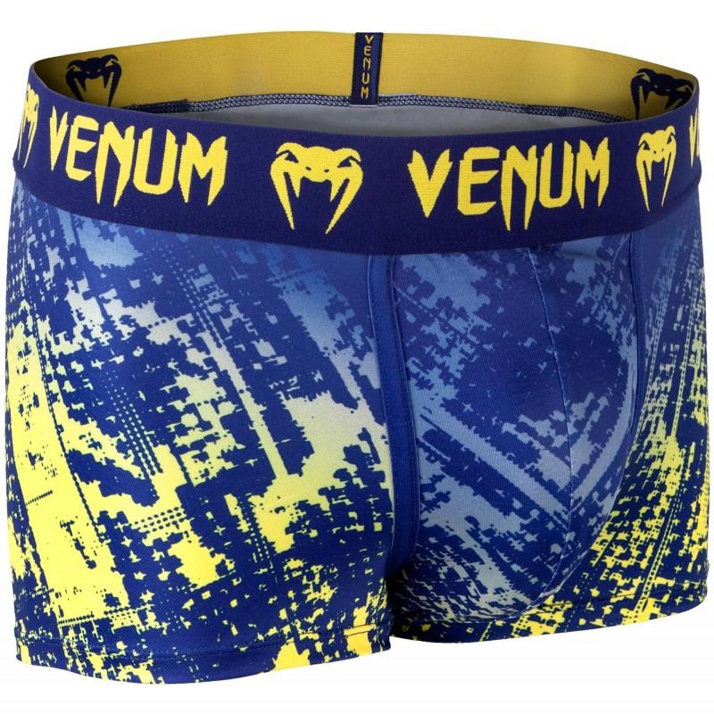 Venum Bokserki Tropical Niebieskie/Żółte