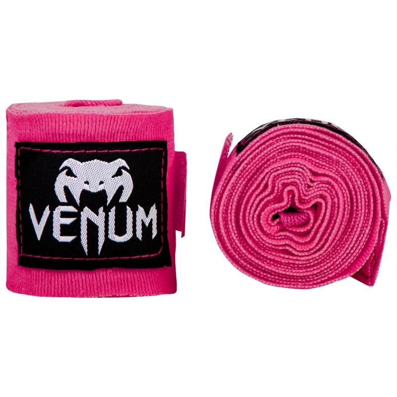 Venum Bandaże bokserskie Różowe
