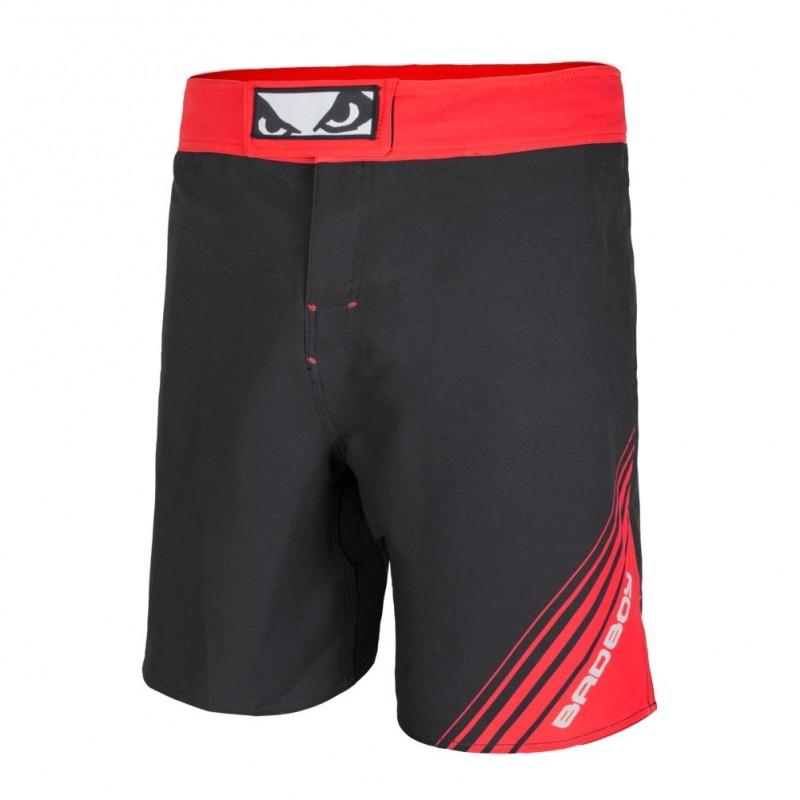 Bad Boy Spodenki MMA Fundamental Czarne/Czerwone