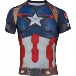 Under Armour Alter Ego Compression Captain America Fullsuit 1