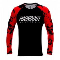 Poundout Rashguard Red Troops
