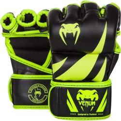 Venum Rękawice do MMA Challenger Czarne/Zielone 1