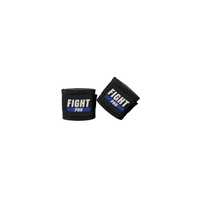 Fight Pro Bandaże bokserskie Basic Czarne