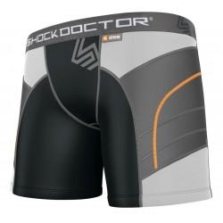 Shock Doctor Compression Shorts + ochraniacz krocza Damski 1