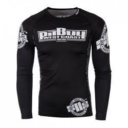Pit Bull Rashguard Logo Długi Rekaw Czarny 1