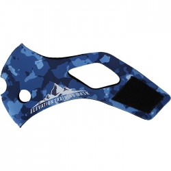 Pasek neoprenowy do Elevation Training Mask 2.0 Blue Camo 1