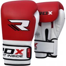 RDX Rękawice bokserskie BGL-T1 Gel Pro Czerwone 1