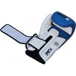RDX Rękawice bokserskie BGL-T1 Gel Pro Niebieskie 1