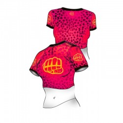 Formma Belly Shirt Panther Różowy 2
