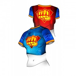 Formma Belly Shirt Supergirl Punch 2