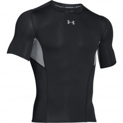 Under Armour CoolSwitch Compression Shortsleeve Czarny/Szary 4