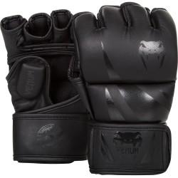Venum Rękawice do MMA Challenger Czarne/Czarne 1