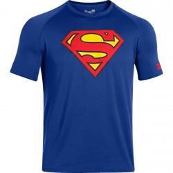 Under Armour Superman Tech Tee Niebieski 1