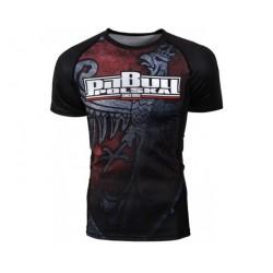 Pit Bull Rashguard Knight Krótki Rękaw Czarny 1