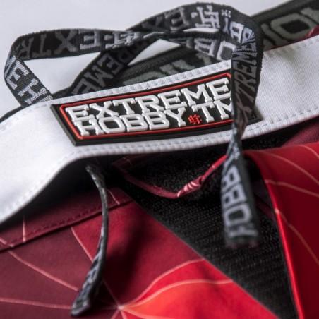 Extreme Hobby Spodenki MMA Polska Czerwone 4