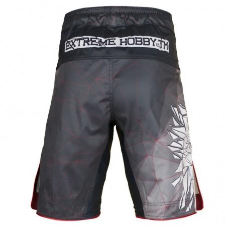 Extreme Hobby Spodenki MMA Polska Grafitowe 2