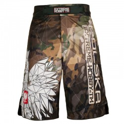 Extreme Hobby Spodenki MMA Polska Camo 1