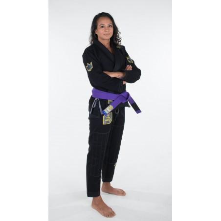 KiNGZ Kimono/Gi Damskie Nano Czarne 2