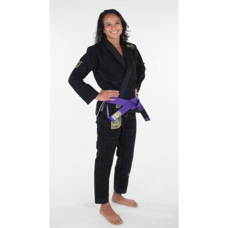KiNGZ Kimono/Gi Damskie Nano Czarne 6