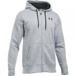 Under Armour Bluza z kapturem Rival Szara 1