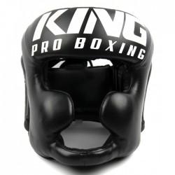 King PRO Kask Bokserski HG Czarny 1