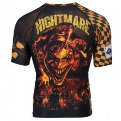 Extreme Hobby Rashguard Nightmare Krótki Rękaw 1