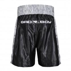 Bad Boy Spodenki Bokserskie Czarne/Srebrne 1