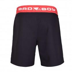 Bad Boy Spodenki MMA Fundamental Czarne/Czerwone 1