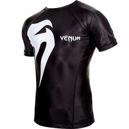 Venum Rashguard Giant Krótki Rękaw Czarny 2