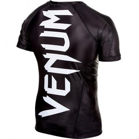 Venum Rashguard Giant Krótki Rękaw Czarny 4