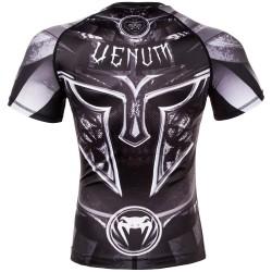 Venum Rashguard Gladiator 3.0 Krótki Rękaw Czarny 1