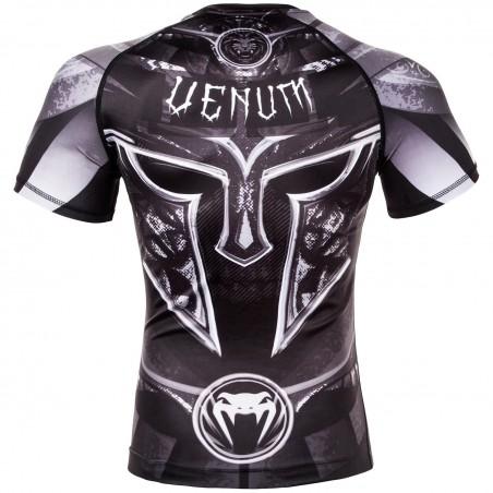 Venum Rashguard Gladiator 3.0 Krótki Rękaw Czarny 2