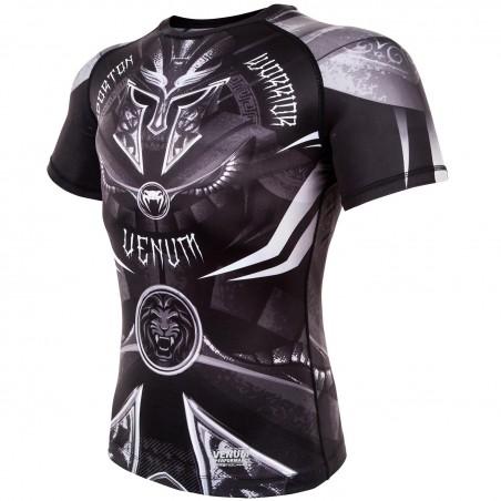Venum Rashguard Gladiator 3.0 Krótki Rękaw Czarny 3