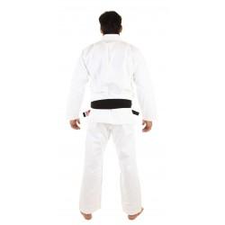KiNGZ Kimono/Gi BJJ Basic 2.0 Białe + Biały Pas 1