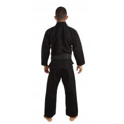 KiNGZ Kimono/Gi BJJ Basic 2.0 Czarne + Biały Pas 1