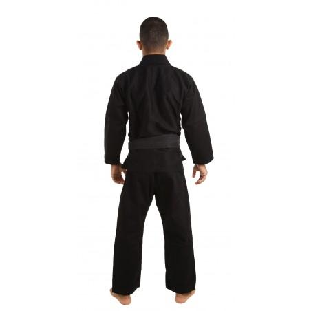 KiNGZ Kimono/Gi BJJ Basic 2.0 Czarne + Biały Pas 4