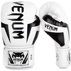 Venum Rękawice bokserskie Elite Białe/Czarne 1