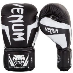 Venum Rękawice bokserskie Elite Czarne/Białe 1