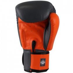 Twins Rękawice bokserskie BGVL-3 Szare/Pomarańczowe 1