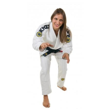 KiNGZ Kimono/Gi Damskie Comp 450 V4 Białe 1