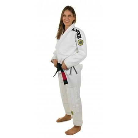 KiNGZ Kimono/Gi Damskie Comp 450 V4 Białe 3