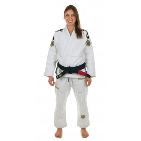 KiNGZ Kimono/Gi Damskie Comp 450 V4 Białe 4