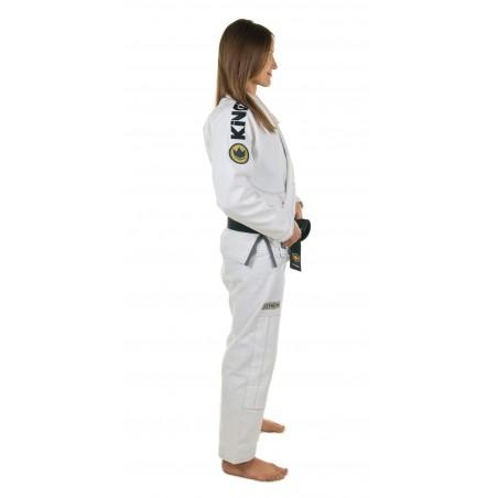 KiNGZ Kimono/Gi Damskie Comp 450 V4 Białe 5