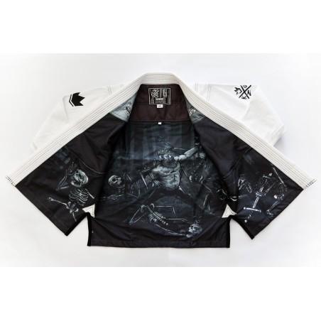KiNGZ Kimono/Gi BJJ Sovereign 2.0 Białe 3