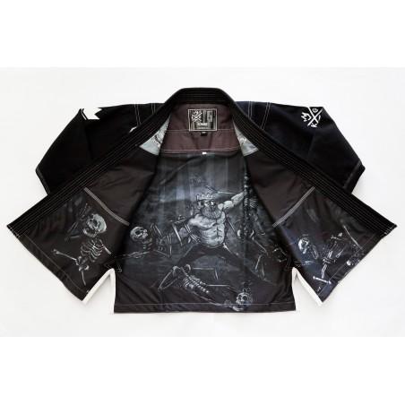 KiNGZ Kimono/Gi BJJ Sovereign 2.0 Czarne 3