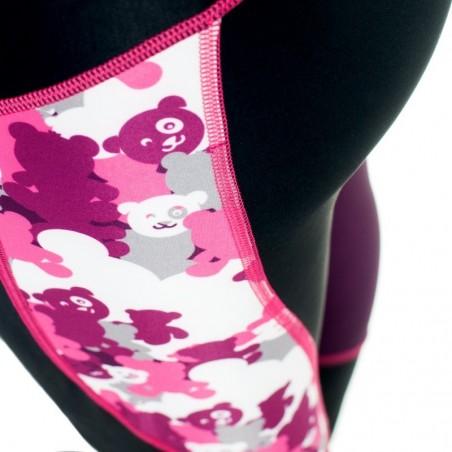 Extreme Hobby Leginsy Damskie Pink Teddy Bear  4