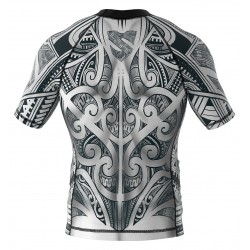 Smmash Rashguard Maori Krótki Rękaw 1