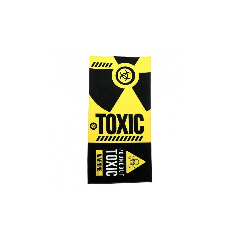 Poundout Ręcznik frotte Toxic
