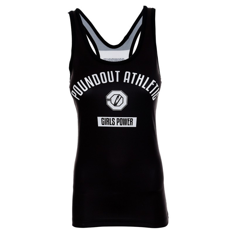 Poundout Tank Top Damski Athletic